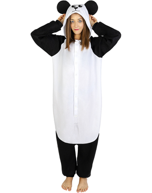 Onesie Panda Costume for Adults