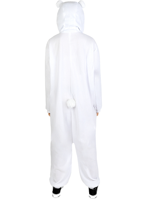 Strój onesie Miś Polarny dla dorosłych