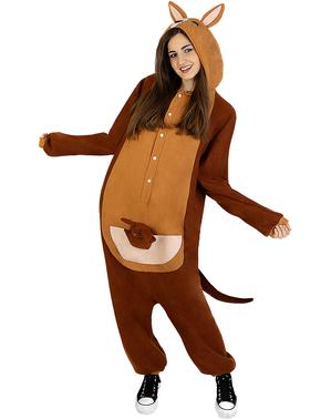 Overalový kostým klokan pro dospělé