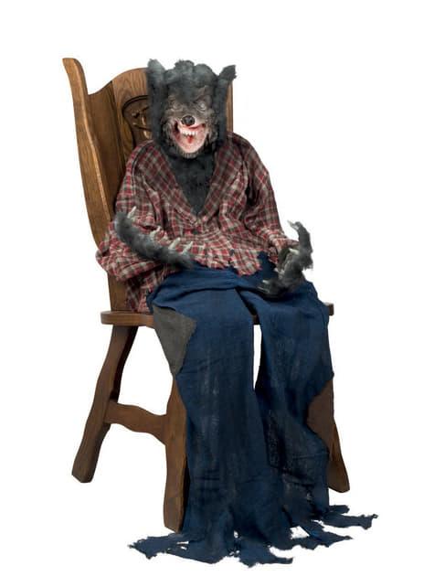 Decorative Werewolf Figure