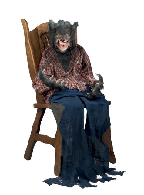 Figura de hombre lobo decorativa - para niños y adultos