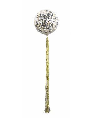 5 baloane cu confetti de Revelion