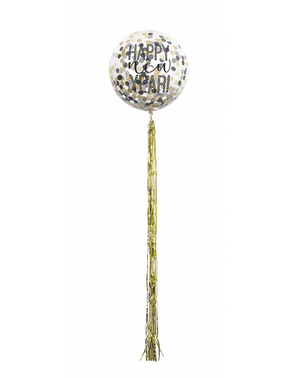 5 Happy New Year Confetti Ballonnen