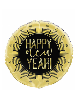Happy New Year Foil Balloon (45 cm)
