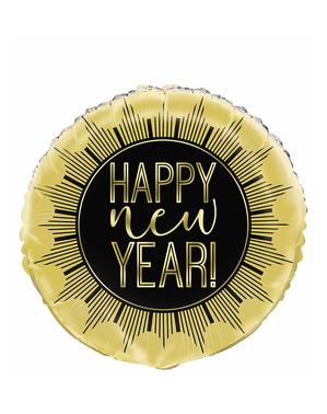 Happy New Year Folieballon (45 cm)