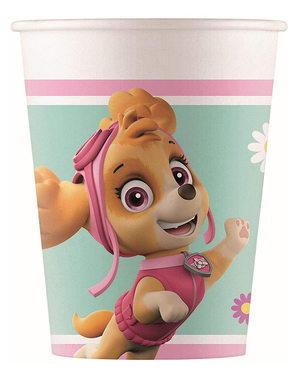 8 Paw Patrol Skye & Everest Paper Cups