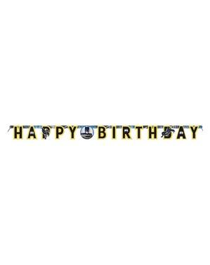 """""""Tillykke med fødselsdagen"""" Batman Guirlande"""