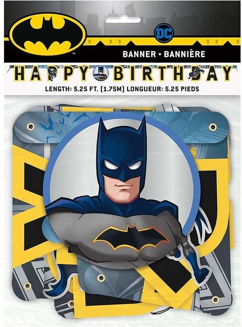 """Happy Birthday"" Batman Garland"