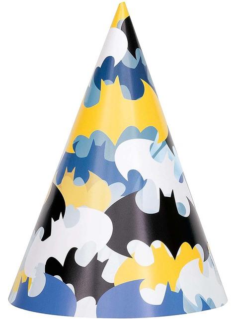 8 Batman Party Hats