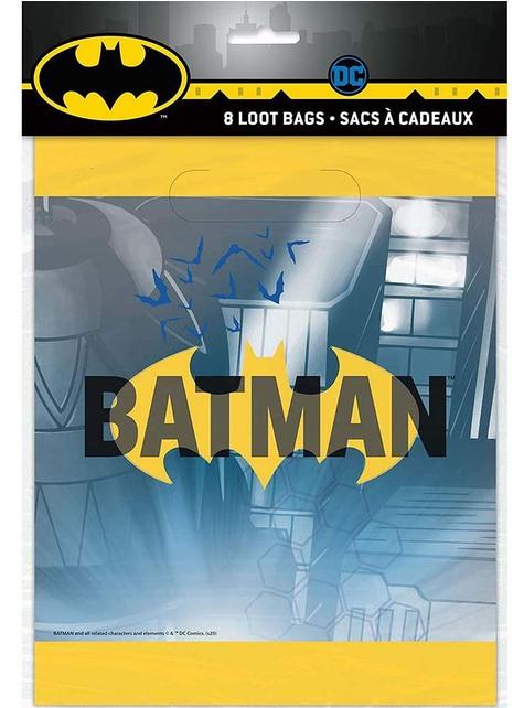 8 Batman Party Bags