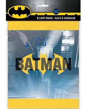 8 sacos para guloseimas Batman