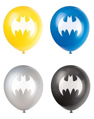 8 palloncini di Batman