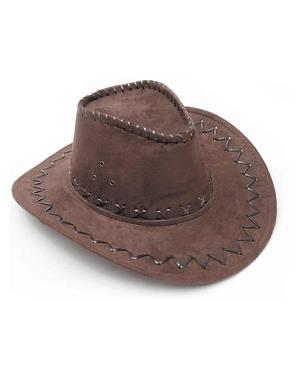 Bruine Cowboy hoed