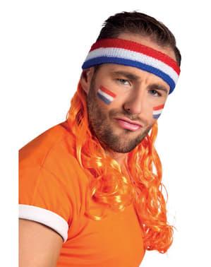 Fita da Holanda com pelo para adulto