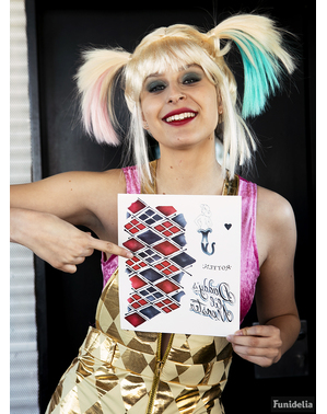 Harley Quinnin Tatuoinnit - Suicide Squad
