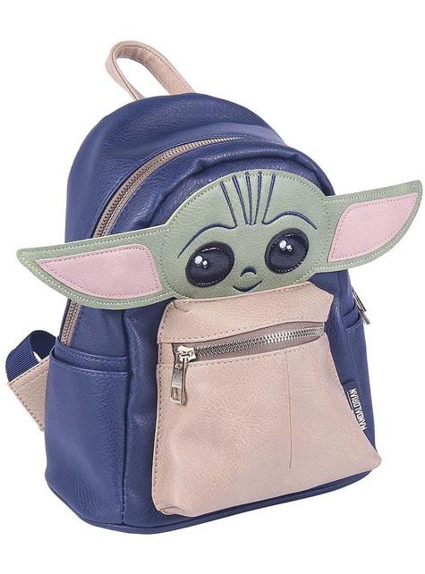 Small Baby Yoda Backpack - The Mandalorian Star Wars