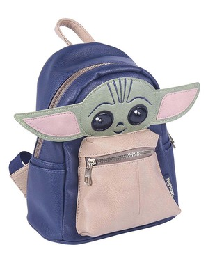 Small Baby Yoda Backpack - The Mandalorian Star Wars