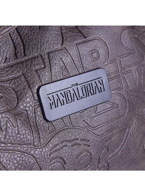 Mochila Baby Yoda marrón - The Mandalorian Star Wars