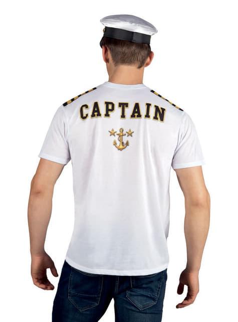 Camiseta de capitán para hombre - hombre