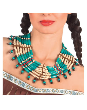 Collier indienne deluxe adulte