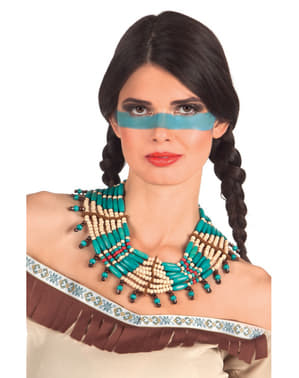 Adult's Deluxe Indian Woman Necklace