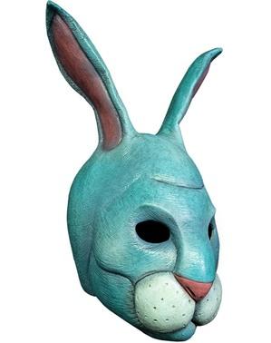 Máscara The Umbrella Academy 2 Agente Blau de látex para adulto