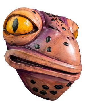 Máscara The Umbrella Academy 2 Agente Toad de látex para adulto
