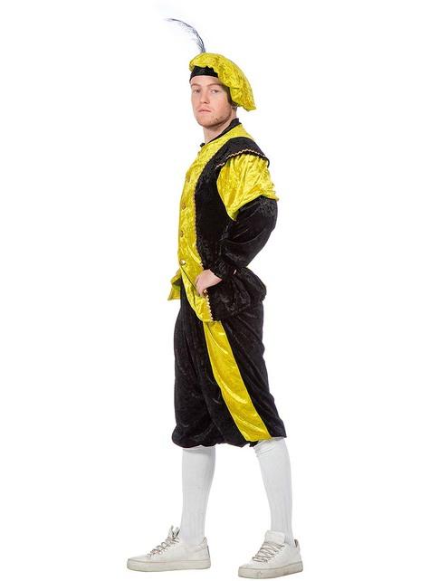 Żółty Strój Piotra - pomocnika Mikołaja dla mężczyzn