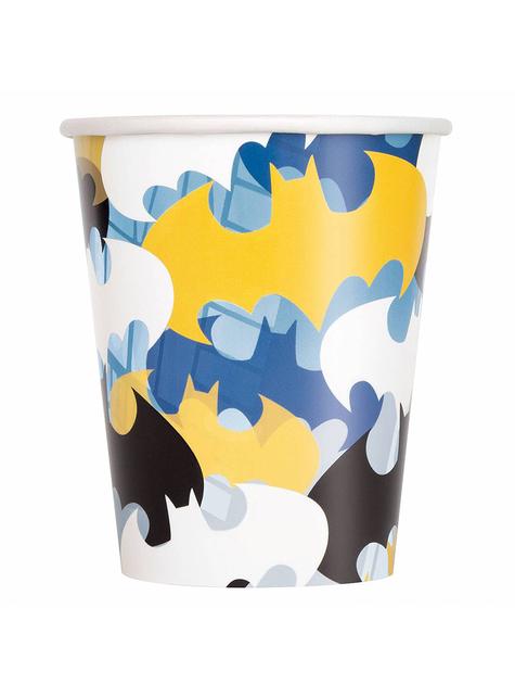 8 Batman Cups