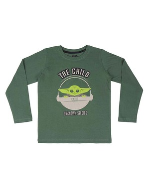 Pijama Baby Yoda (The Child) para menino - Mandalorian