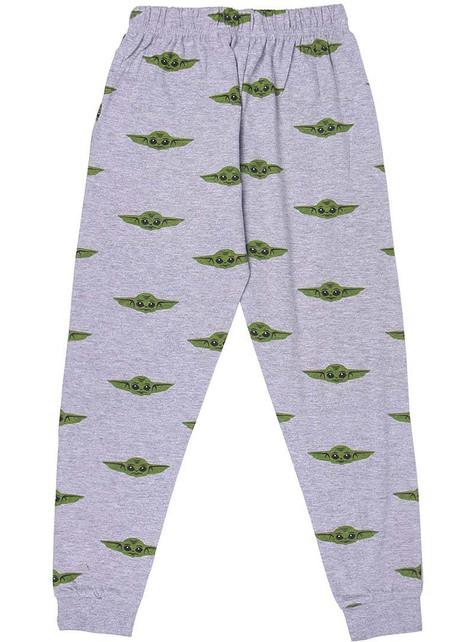 Pijama Baby Yoda (The Child) para menino - Mandalorian