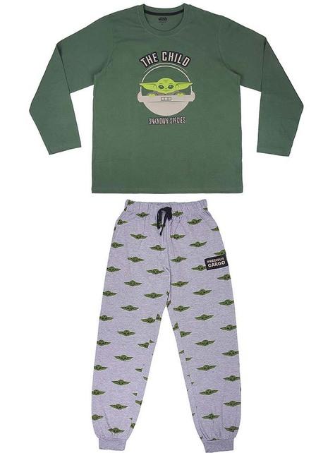 Baby Yoda Pyjamas (The Child) For Adults - Mandalorian