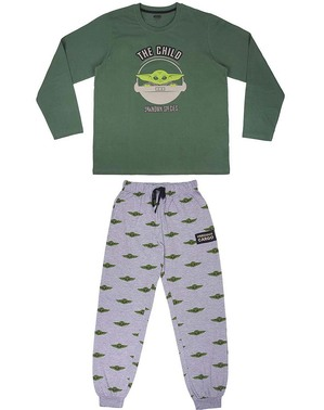 Baby Yoda Pyjamas (barnet) til Voksne - Mandalorian