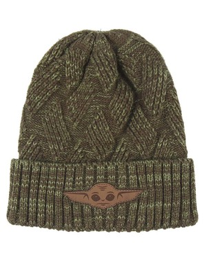 Baby Yoda Beanie (The Child) For Adults - Mandalorian