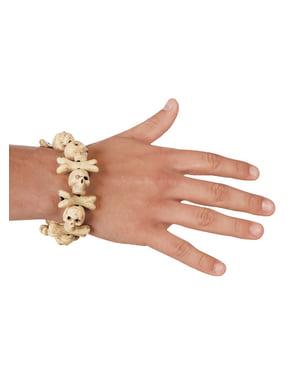 Adult's Pirate Skulls Bracelet
