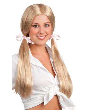 Parrucca da studente diligente per donna