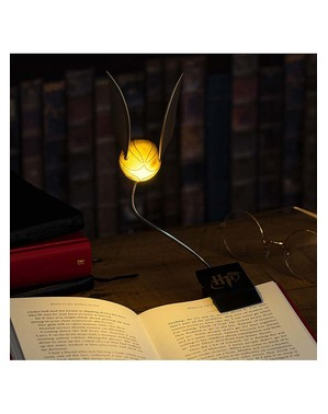 Gullsnopp USB-lampe - Harry Potter