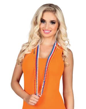 Hollandské náhrdelníky (bílý, modrý, červený, oranžový)
