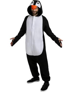 Onesie Pingvin Kostume til Voksne