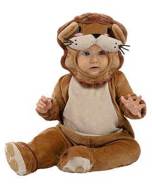 Costum de bebeluș leu