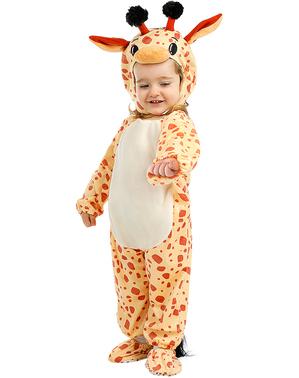 Fato de girafa para bebé