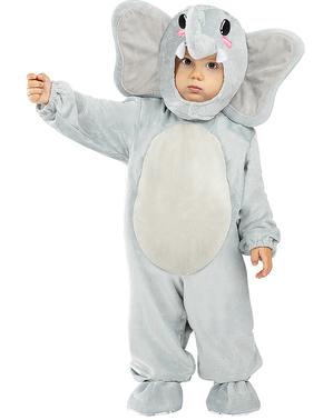 Elefant Maskeraddräkt för bebis