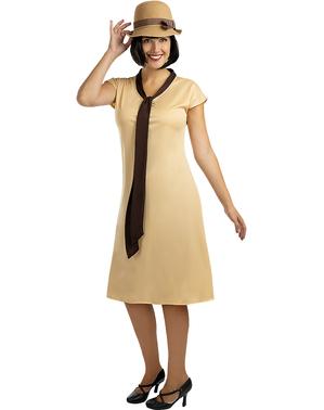 שמלת מזכירה אלגנטית של שנות ה-50 לנשים