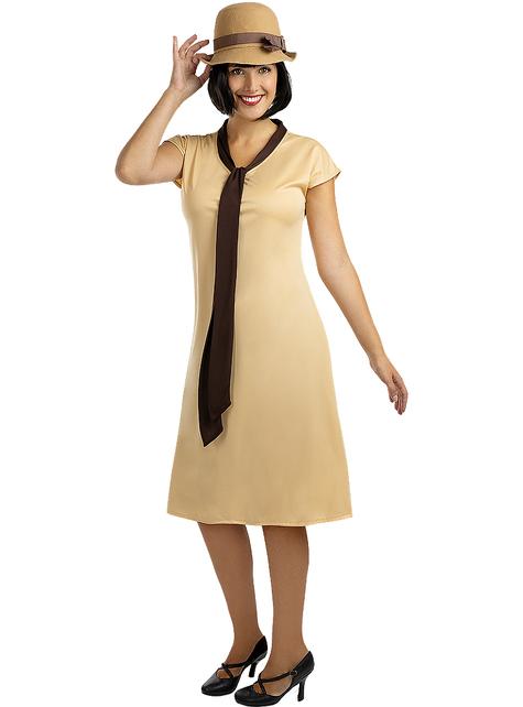 Disfraz años 20 para mujer talla grande - Las chicas del cable