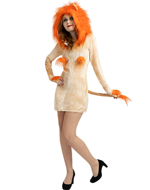 Lioness Costume for Women Plus Size