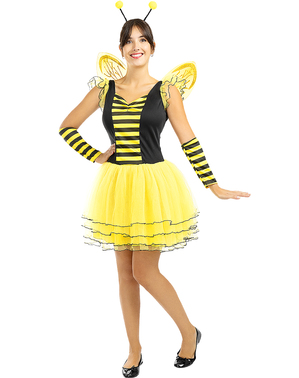 Costume da ape da donna taglie forti