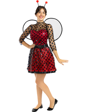 Ladybug Costume for Women Plus Size