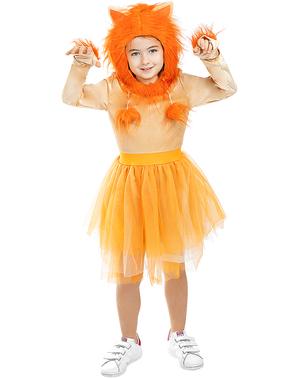 Disfraz de leona para niña