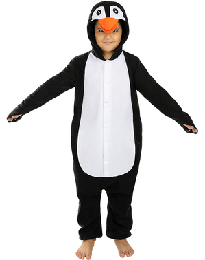 Strój Onesie Pingwin dla dzieci