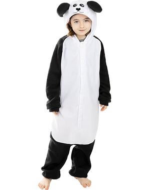 Kigurumi Panda Maskeraddräkt för barn